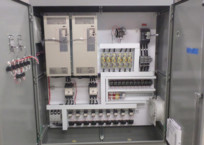 A view of control panel - Automated Drive Systems